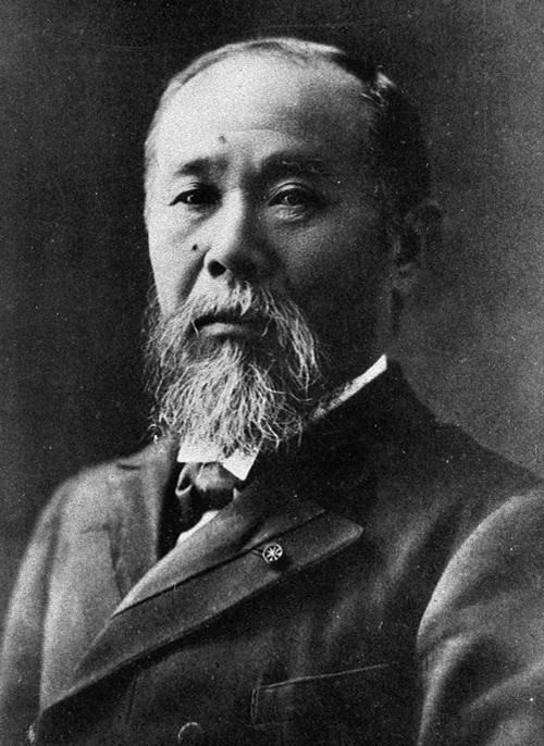 伊藤博文(晩年)